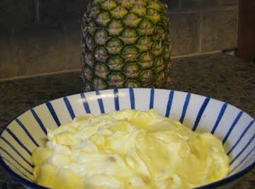 Pineapple Pudding Salad