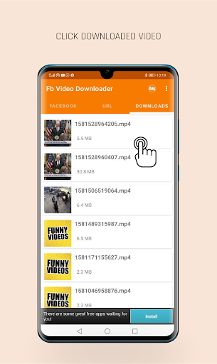 FastVid: Video Downloader for Facebook 4.3.12 Screenshots 4