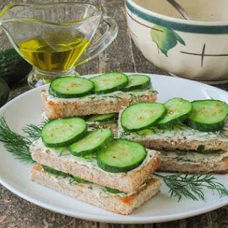 Cucumber Sandwich.