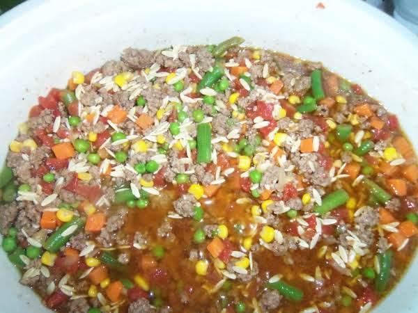 Crock Pot Hamburger Soup Recipe