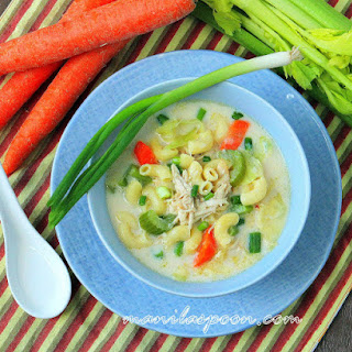 Creamy Chicken Sopas (Filipino Chicken Macaroni Soup) Recipe