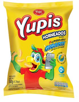//Pasabocas Yupi Yupis   Gigantes Salado Paquete X48G.