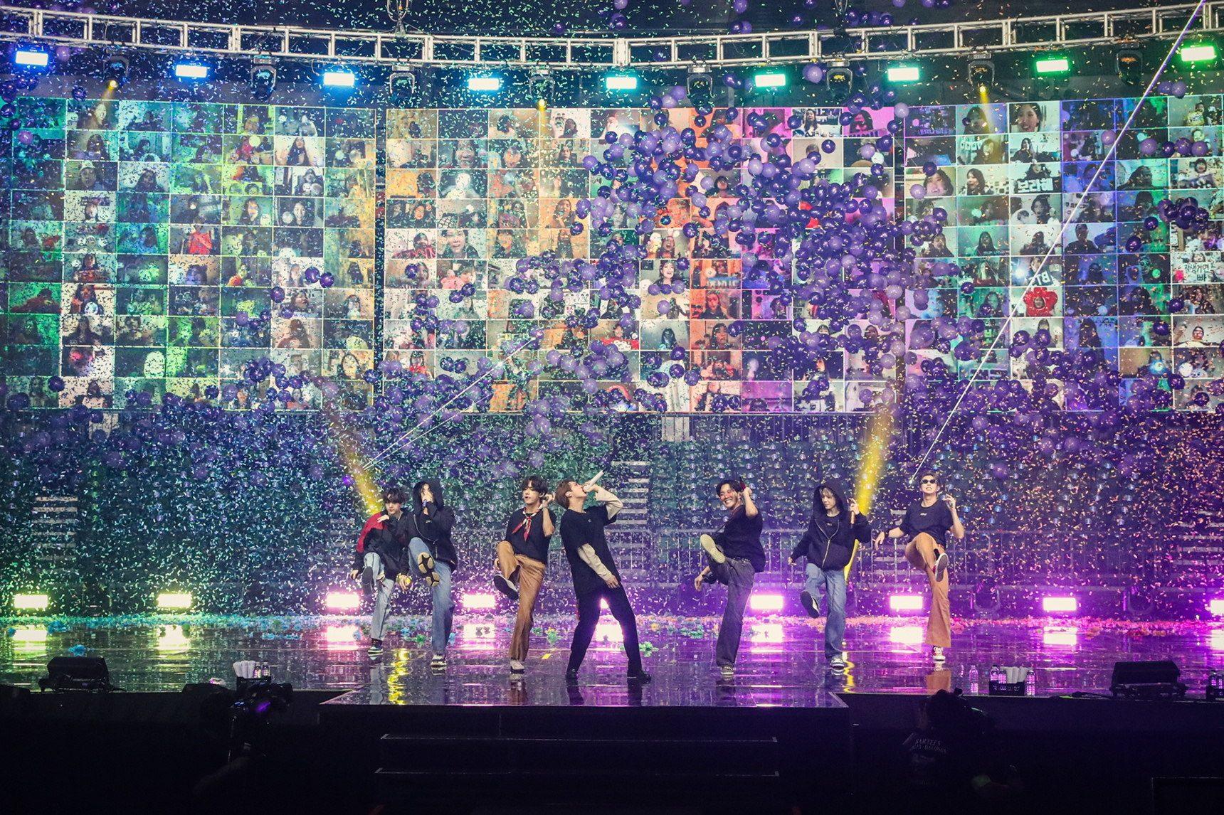 BTS online concert