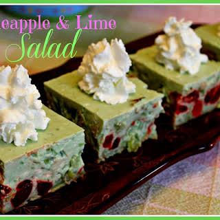 Aunt Bethany's Pineapple Lime Salad!.