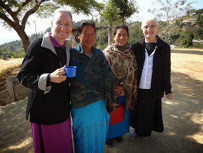 Photo: These two sisters faithfully attended the pastors conference every day. Beautiful Sisters fellowship.