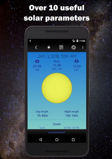 Moon Phase Calendar 1.41 screenshots 2