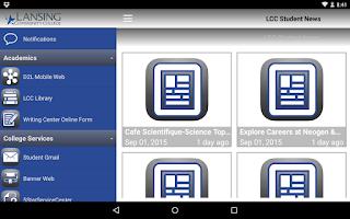 Screenshot of LCC Stars
