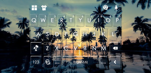 Use Sunset Beach Leisure to beautify keyboard and make your typing more fun!