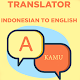 Indonesian To English Translator for PC-Windows 7,8,10 and Mac