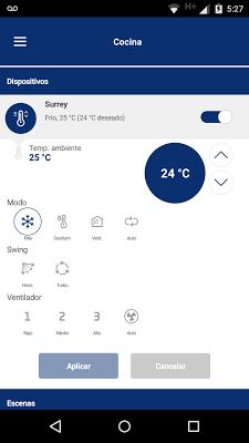 BGH Smart Control - screenshot