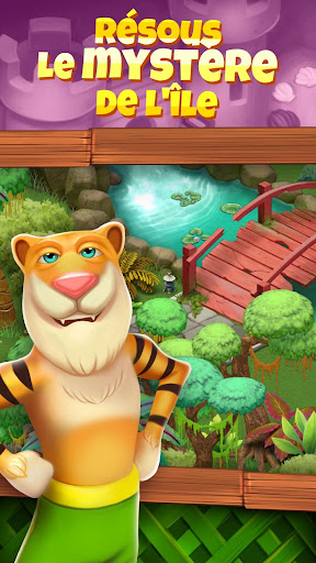 Animal Cove: Solve Puzzles & Customize your Island  captures d'écran 2