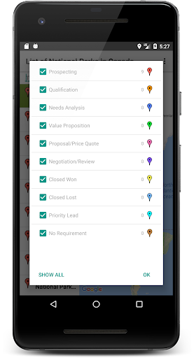 SalesMasterMap - Batch Geocode Android screenshot 6
