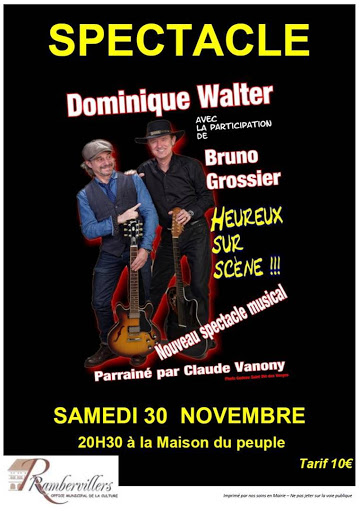 spectacle Dominique Walter