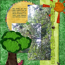 Photo: Picnic in the park by Amanda Rockwell and Gina Muller Font Forte PS CS5