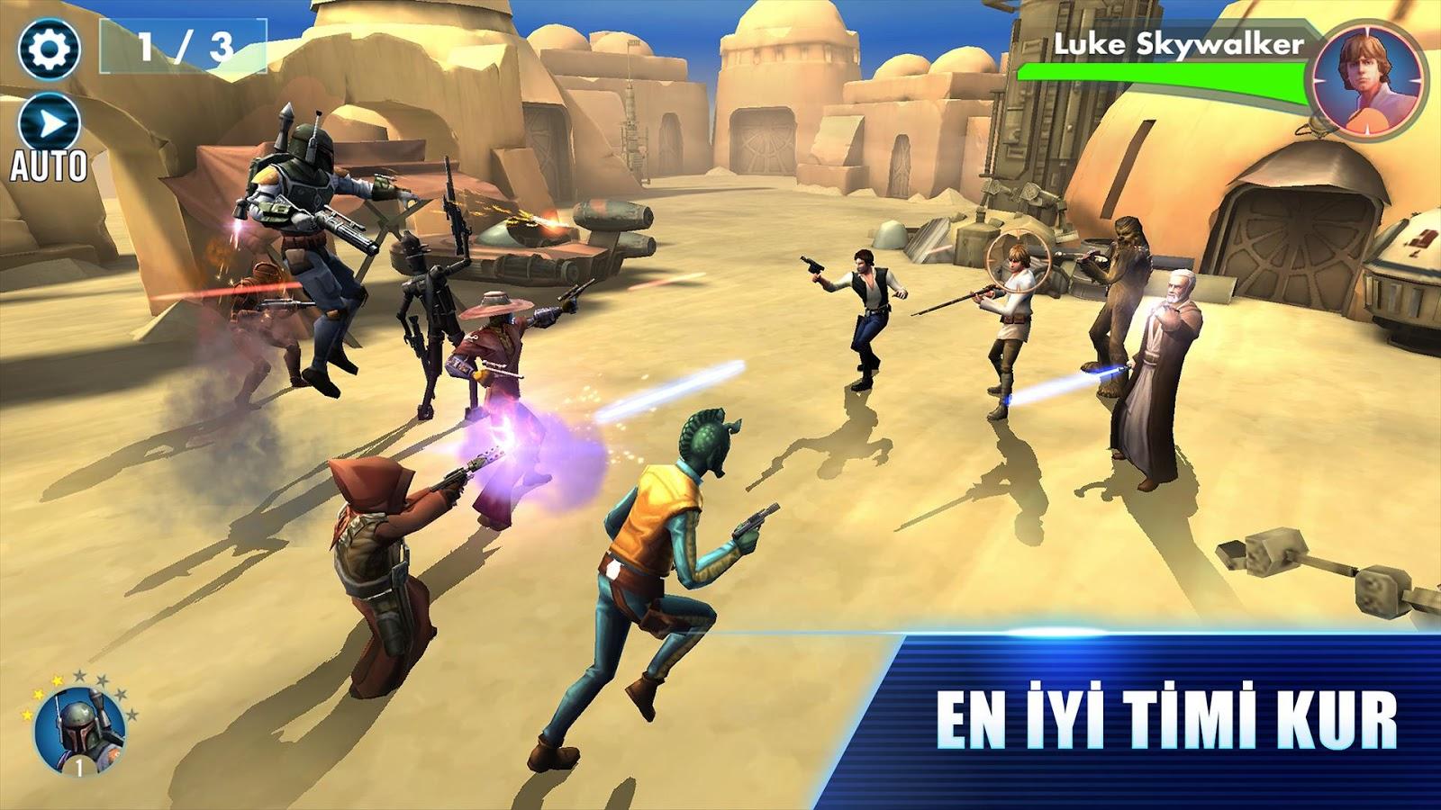 Star Wars ™: Galaxy of Heroes v0.3.121192  Hile Mod Apk Full İndir