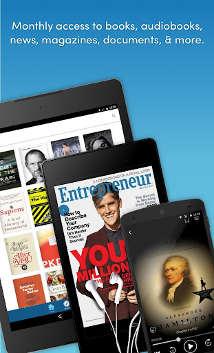 Scribd - Reading Subscription screenshot 1