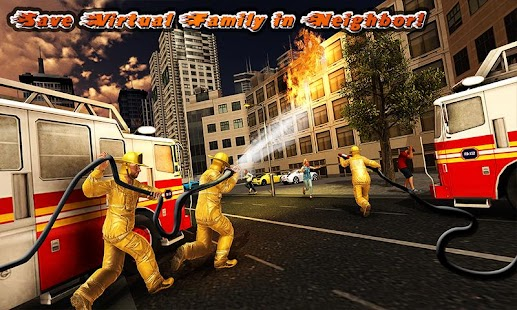 Virtual Firefighter: Family Rescue Hero - náhled