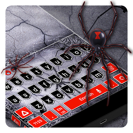 Black Spider Keyboard