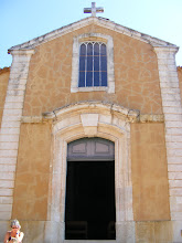 Photo: And here, the simple church façade.
