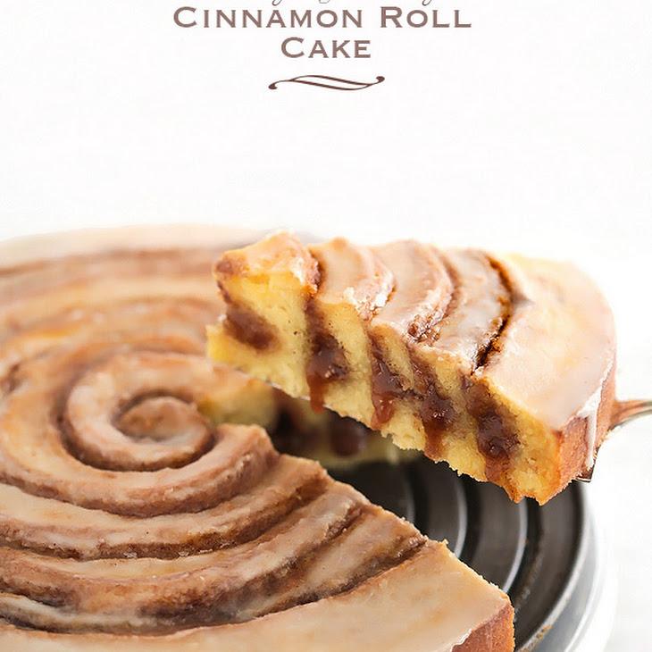 Easy Gooey Cinnamon Roll Cake Recipe | Yummly