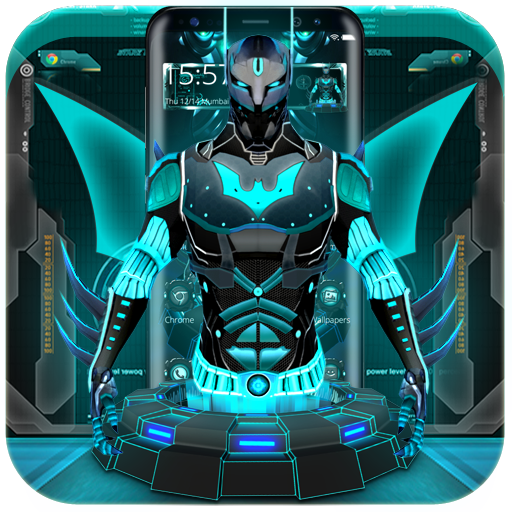 3d Tech Hero Theme Apps On Google Play