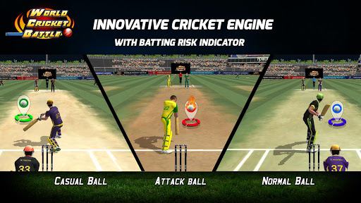 World Cricket Battle 1.2.0 gameplay | by HackJr.Pw 8