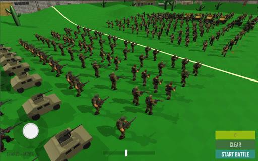World War Modern Epic Battle Simulator  screenshots 1