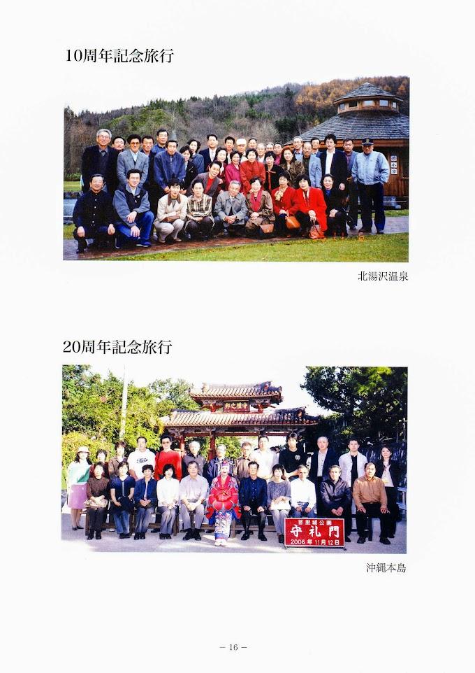 10周年・20周年記念旅行『30年の歩み・北竜町もち米生産組合』