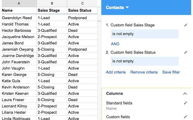 solve crm google sheets add on g suite marketplace