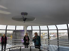 Photo: 29 0oktober 2016 CREO Rotterdam / Delft, Van Nelle fabriek: uitzicht vanuit de VIP-lounge (hoogste punt)