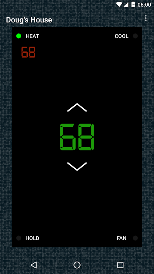 Thermostat- screenshot