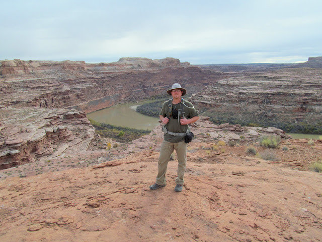 Me standing above the Green River