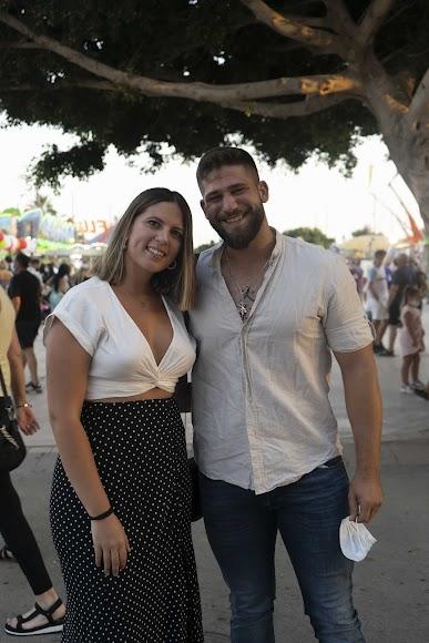 Marta y Diego disfrutaron de una noche en los 'vinos dulces'