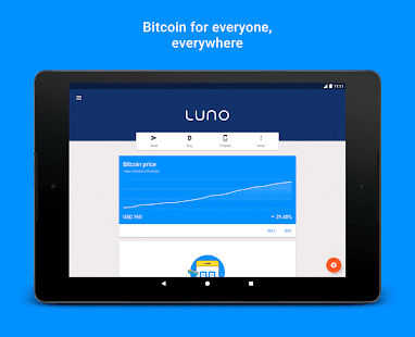 Luno Bitcoin Wallet- screenshot thumbnail
