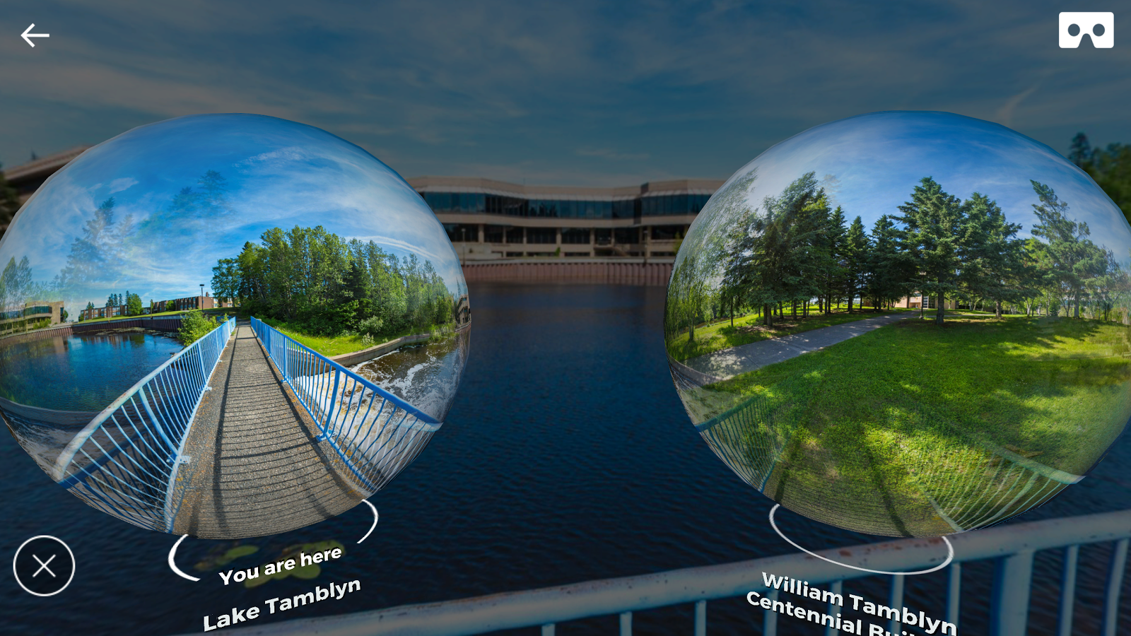 Lakehead - Experience in VR- screenshot