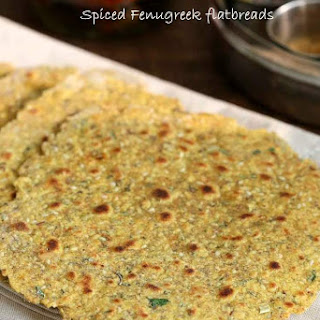 Methi Thepla - High Protein Savory Herbed Flatbread