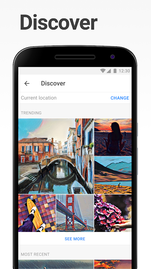 Prisma – screenshot