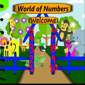 Детский сад дошкольного Math