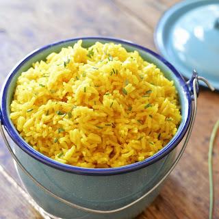 Easy Yellow Rice.