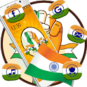 Indian Independence Day Free Trio launch theme icon