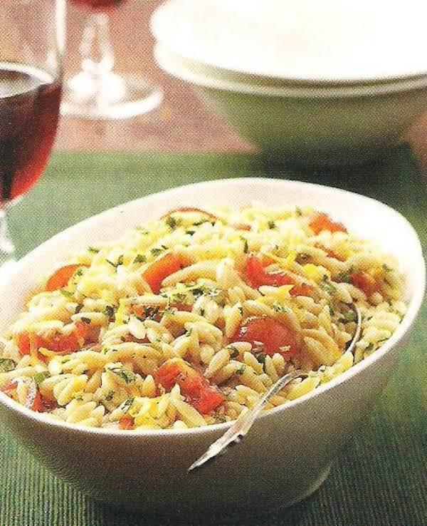 Tomato Lemon Orzo Recipe