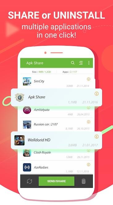 Download Apk Share Bluetooth - Send/Backup/Uninstall/Manage
