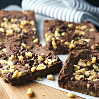 Fudge Walnut Brownies ~vegan, Gluten Free~
