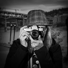 Photo: If Jimmy Olsen was to have a twin sister it would be +Mandy Sloan. Mandy has an addiction a love for old cameras and film. I don't remember how many cameras she said she's amassed but I think it was in the thousands ;)  #wwpw #wwpwpdx