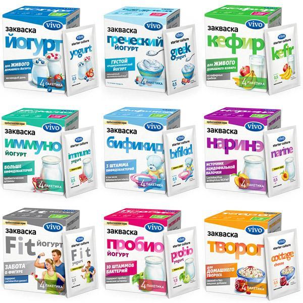 Как приготовить йогурт для похудения при помощи закваски Vivo - Похудение -  Красота и здоровье - Мелочи жизни