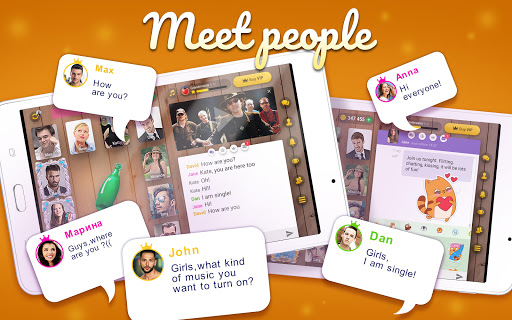 Kiss me: Spin the Bottle, Online Dating and Chat apkpoly screenshots 18