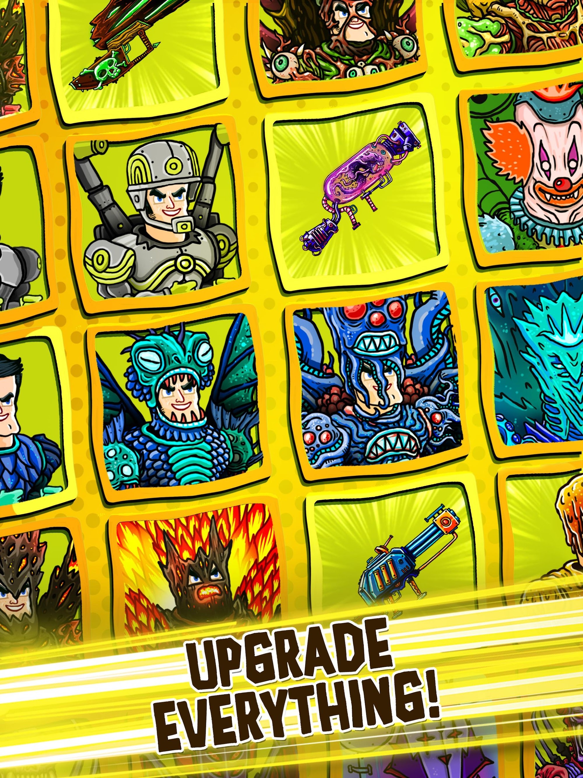 Tap Busters: Galaxy Heroes screenshot #8
