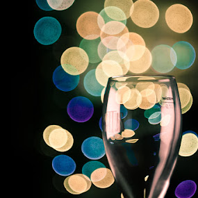 Glam Colours by Alex Cruceru - Artistic Objects Other Objects ( champagne, helios, glam, nikon, digital, glitter, bokeh, lens, zenit )