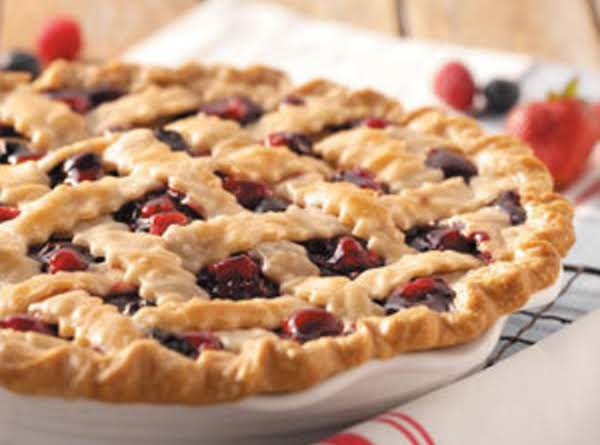 Mountain Berry Pie Recipe