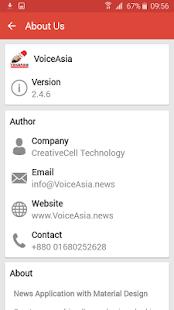 VoiceAsia - náhled